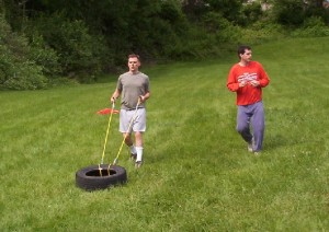 Chariot of Tire: Chris and Dave